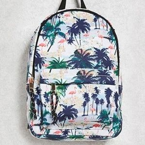 Forever 21 Palm Tree Small Bagpack